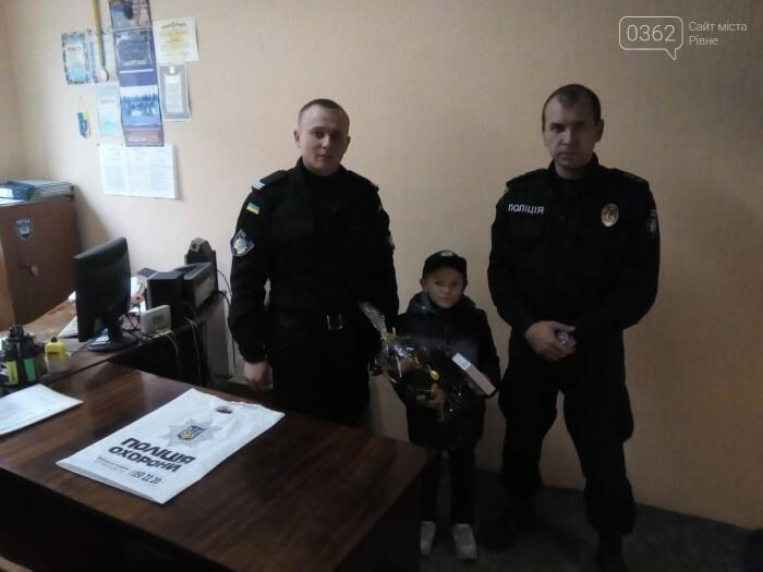Переможцю конкурсу малюнків з Дубно вручили нагороду поліцейські охорони, фото-2
