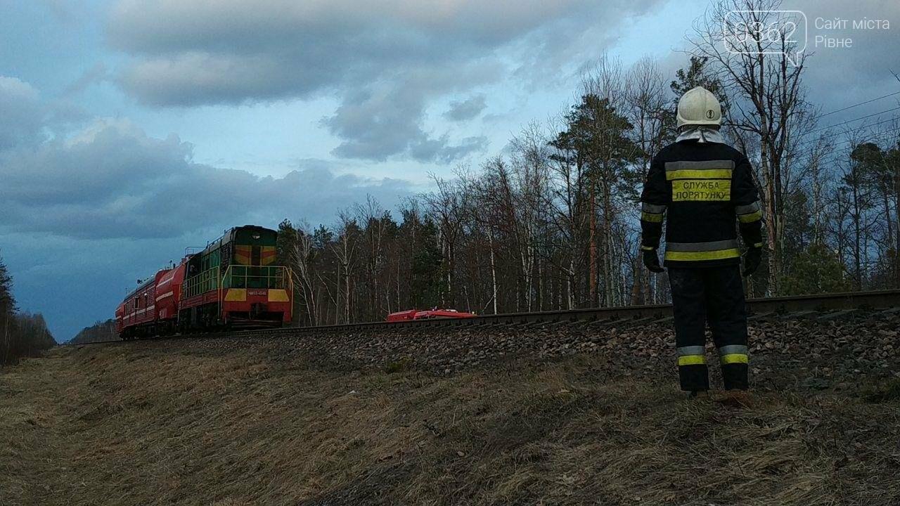 На Рівненщині з палаючого потяга евакуйовували пасажирів (ФОТО) , фото-4