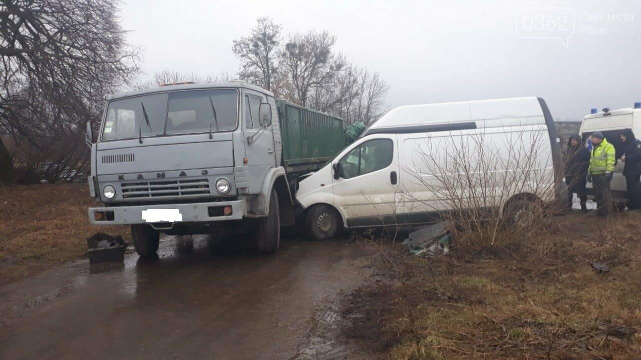 У ДТП на Рівненщині постраждав чоловік (ФОТО) , фото-1