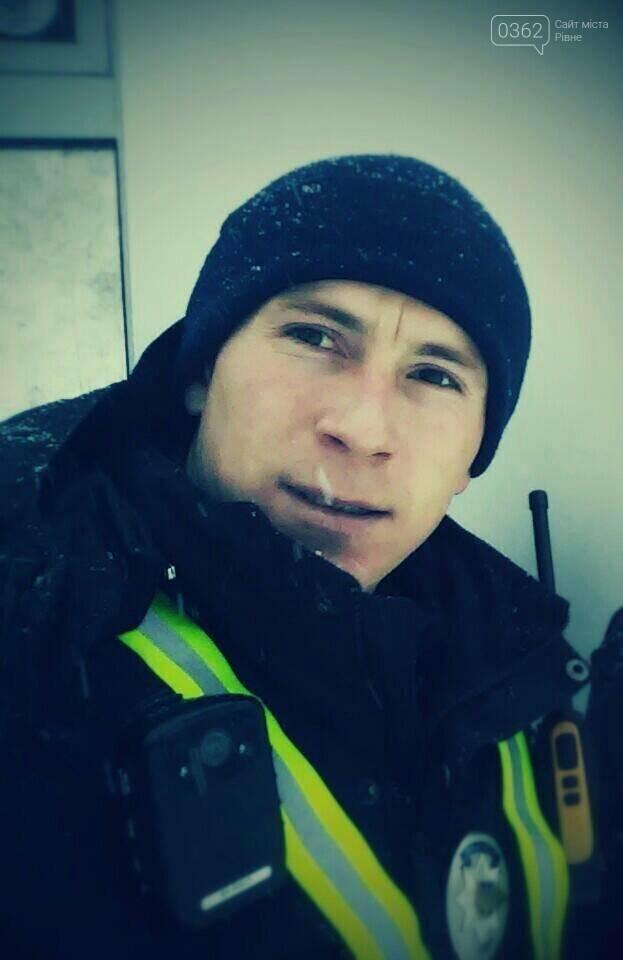«Я буду в поліції стільки, скільки потрібно буде Україні» – Олександр Лац – зразковий патрульний Рівного, фото-1