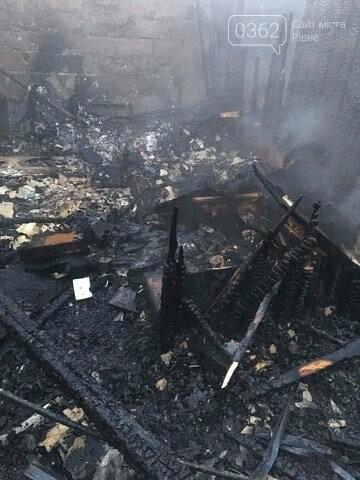Під час пожежі загинули двоє сарненчан (ФОТО), фото-1