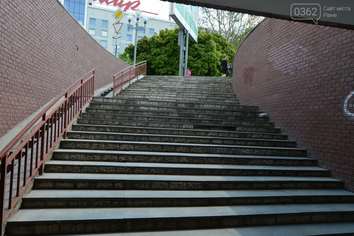 Який вигляд мають нововідремонтовані сходи у рівненській підземці (ФОТОФАКТ) , фото-4