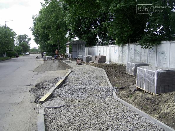 У місті на Рівненщині встановили зупинку і облаштували пішохідну доріжку (ФОТО)  , фото-3