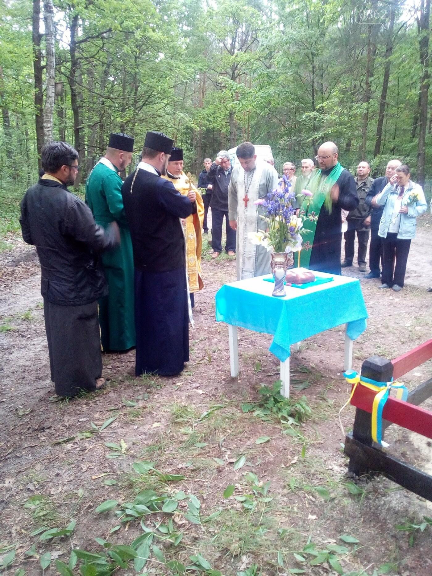 На місці захоронення загиблих воїнів УПА на Рівненщині встановили пам'ятник (ФОТО), фото-2