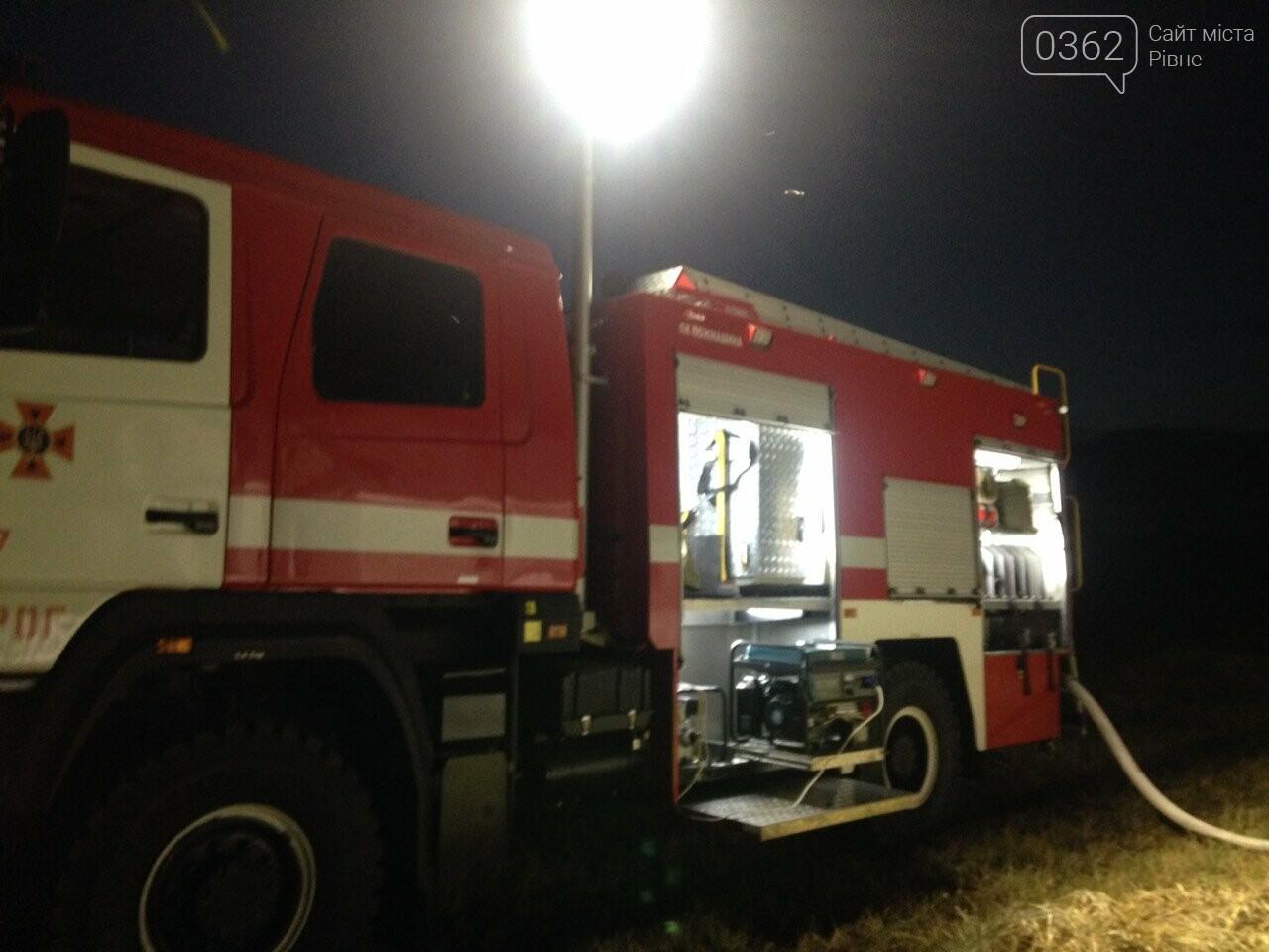 Рятувальники понад дві години гасили житловий будинок на Рівненщині (ФОТО), фото-1