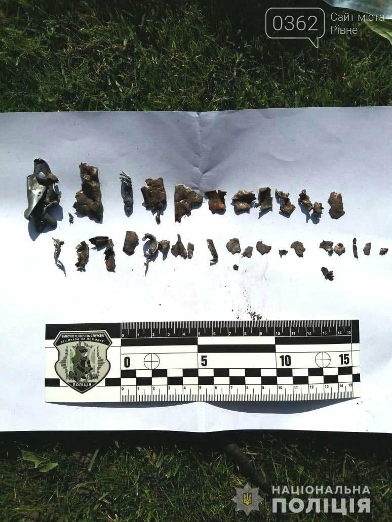 У Рівному на подвір'я приватного будинку кинули гранату (ФОТО)  , фото-1