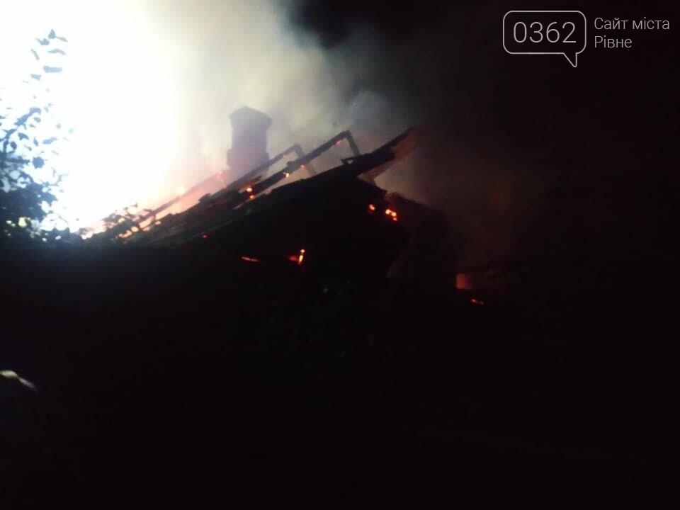 На Рівненщині під час пожежі виявили мертву людину (ФОТО)  , фото-2