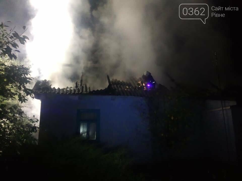 На Рівненщині під час пожежі виявили мертву людину (ФОТО)  , фото-1