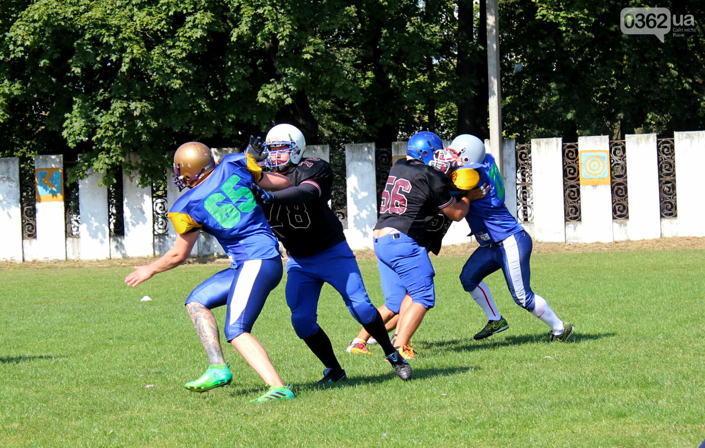 Як у Здолбунові в американський футбол зіграли (ФОТОРЕПОРТАЖ)  , фото-7