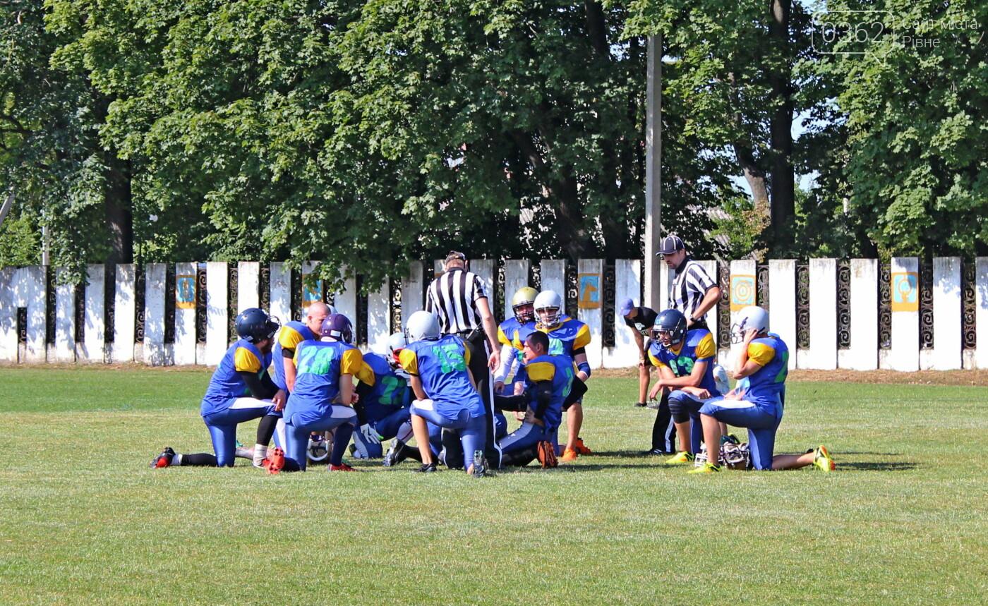 Як у Здолбунові в американський футбол зіграли (ФОТОРЕПОРТАЖ)  , фото-16