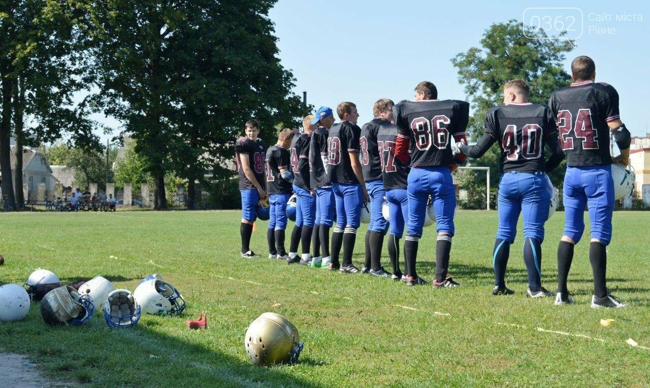 Як у Здолбунові в американський футбол зіграли (ФОТОРЕПОРТАЖ)  , фото-52