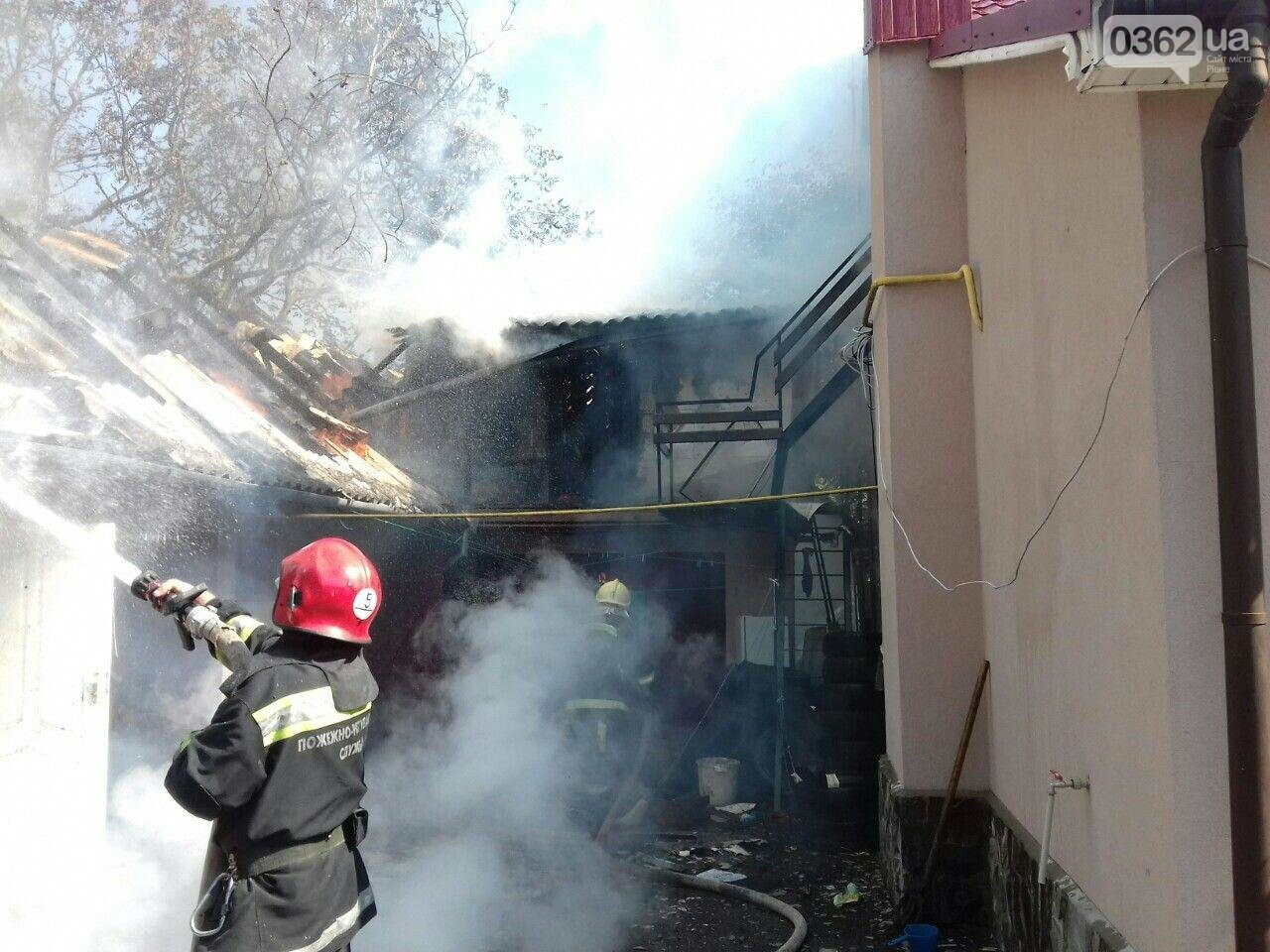 Ледь не згорів житловий будинок на Рівненщині (ФОТО)   , фото-2