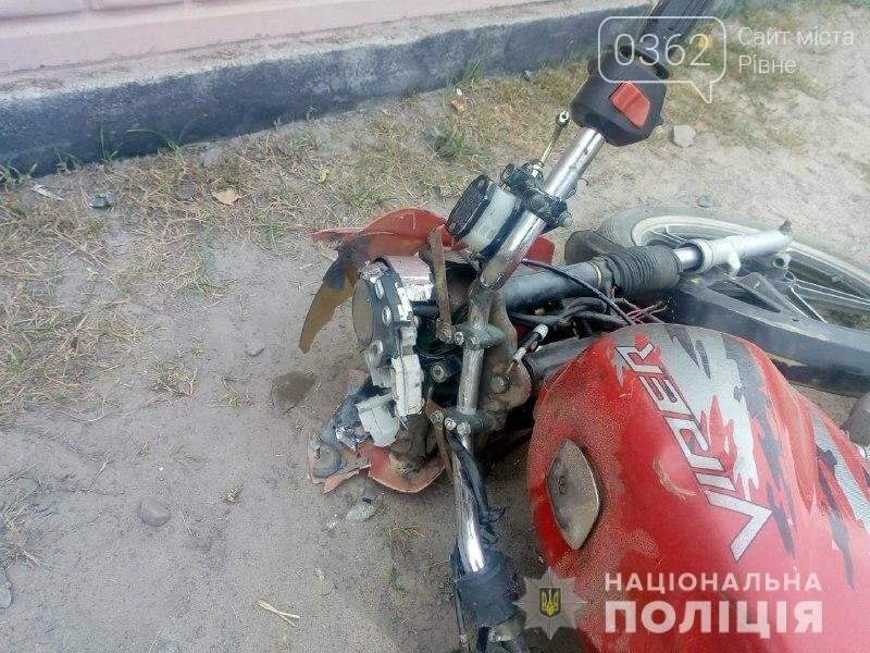 На Рівненщині розбився мотоцикліст (ФОТО), фото-1