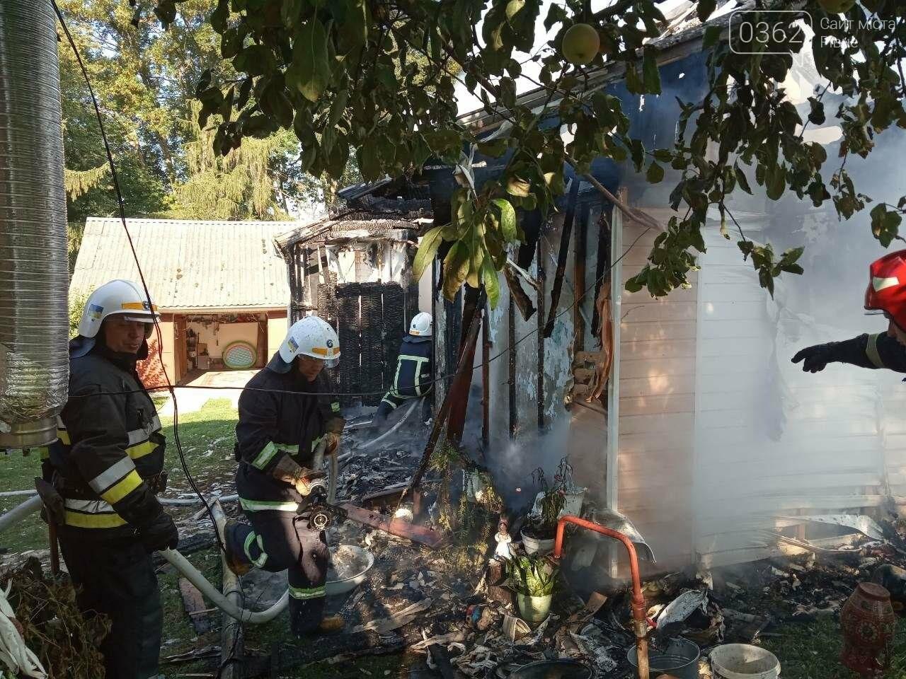 Рятувальники врятували два будинки від пожежі у Млинівському районі (ФОТО), фото-1