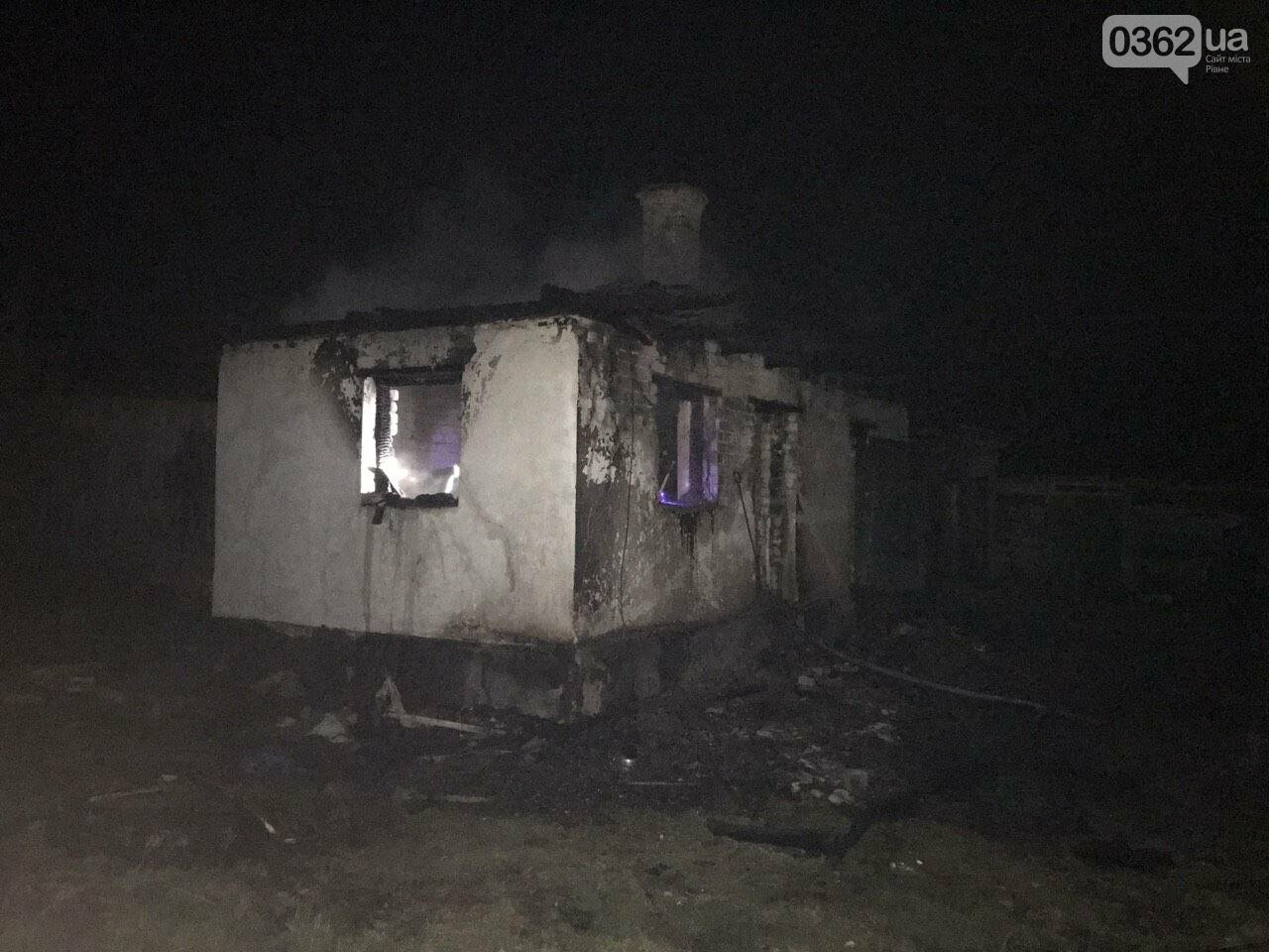 На Рівненщині в згорілому до тла приватному будинку знайшли тіло (ФОТО), фото-1