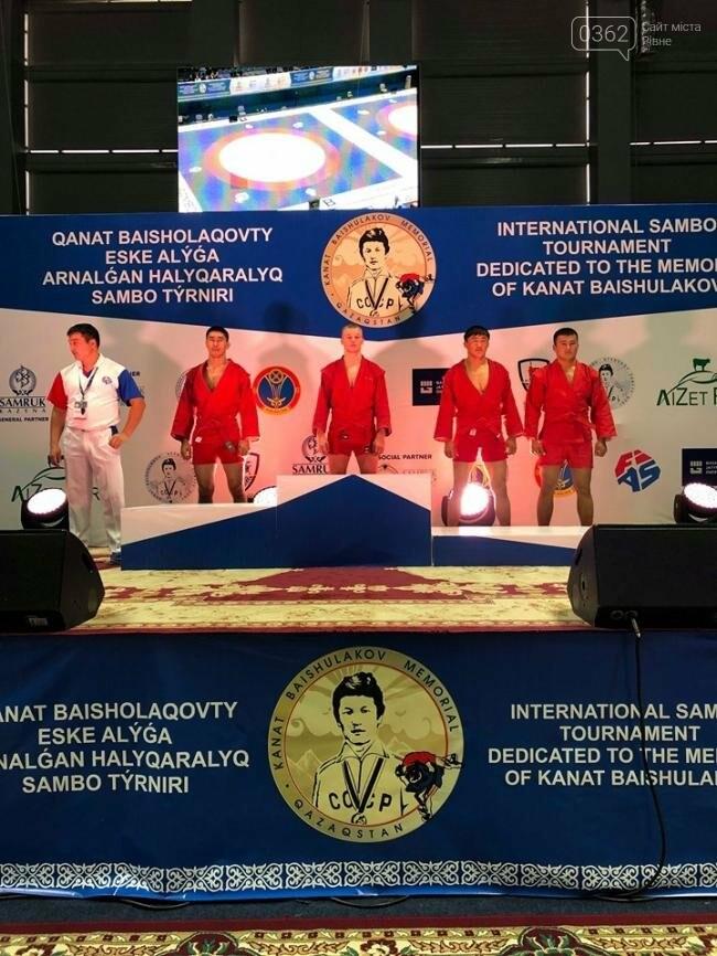 Рівнянин став єдиним представником від України на міжнародному турнірі з бойового самбо, фото-1