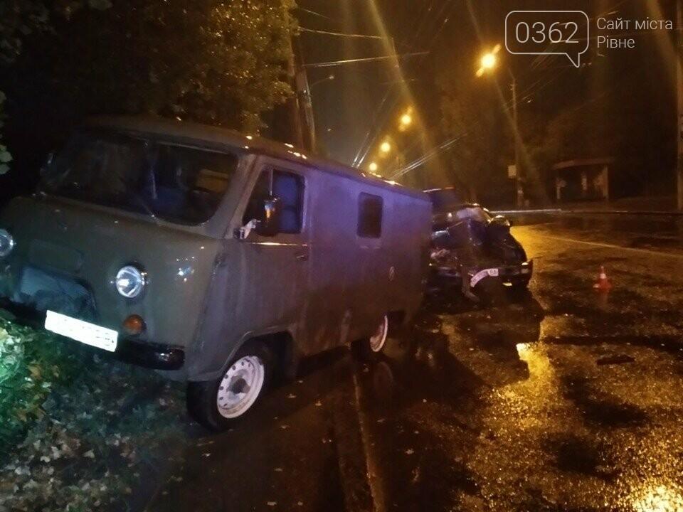 У Рівному п'яний водій влетів в УАЗ (ФОТО), фото-1