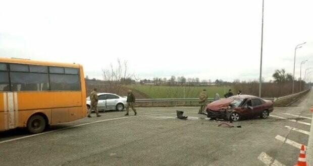 На Рівненщині ДТП за участі автобуса з військовими ( Фото ), фото-2