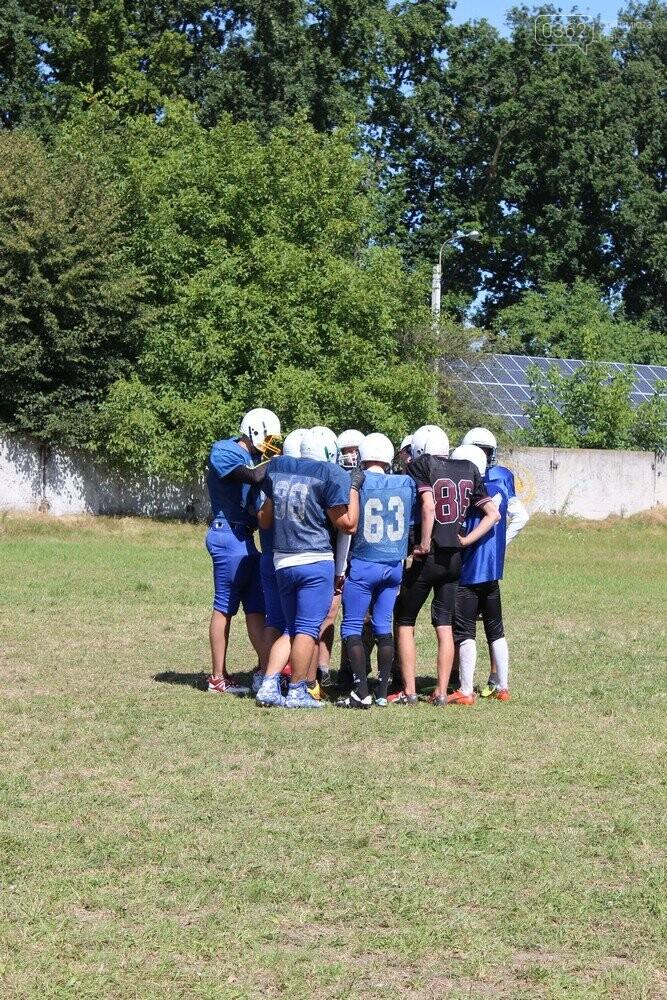 П'ять команд України з американського футболу зібралися на тренувальний табір на Рівненщині (ФОТОРЕПОРТАЖ), фото-5