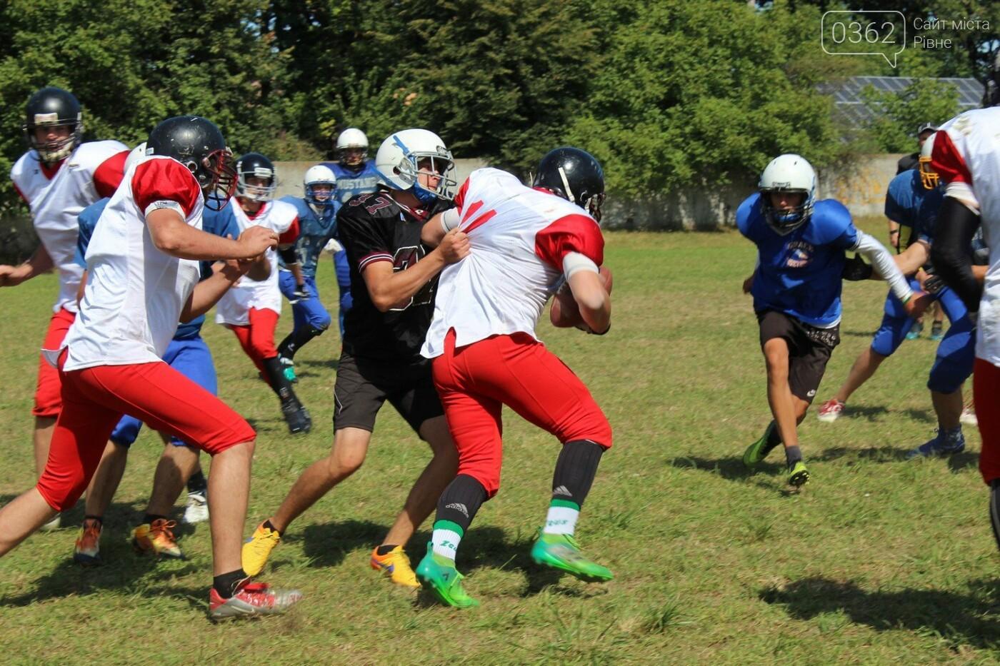 П'ять команд України з американського футболу зібралися на тренувальний табір на Рівненщині (ФОТОРЕПОРТАЖ), фото-7