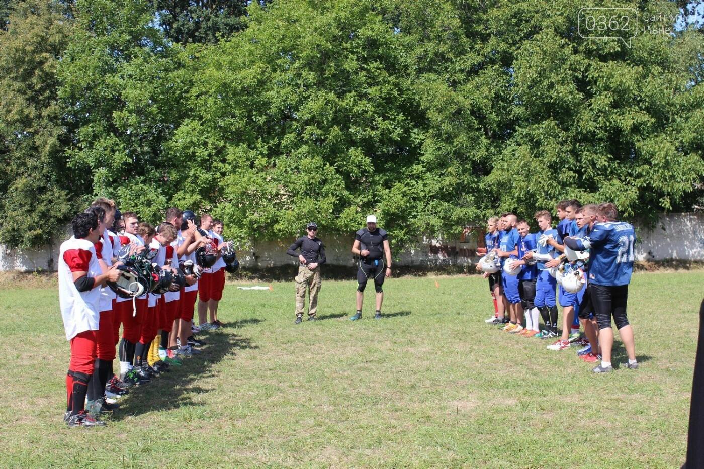 П'ять команд України з американського футболу зібралися на тренувальний табір на Рівненщині (ФОТОРЕПОРТАЖ), фото-9