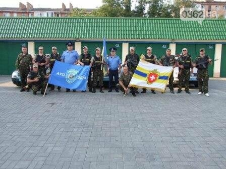 Працівники ДАІ Рівненщини повернулися із зони АТО