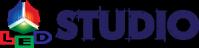 Логотип - LED Studio, реклама на відеоекранах