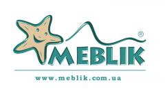 Логотип - Meblik, салон дитячих і молодіжних меблів в Рівному