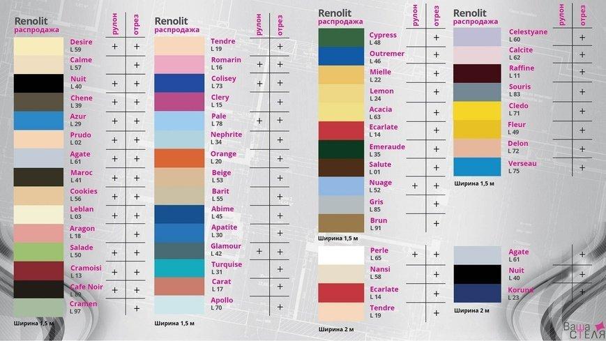 Палітра кольорів натяжних стель, фото-10