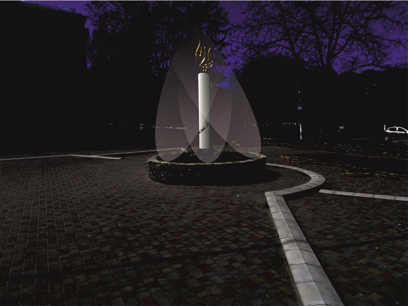 Здолбунівчани різко розкритикували меморіал, який почали встановлювати у центрі міста (ФОТО)  , фото-9