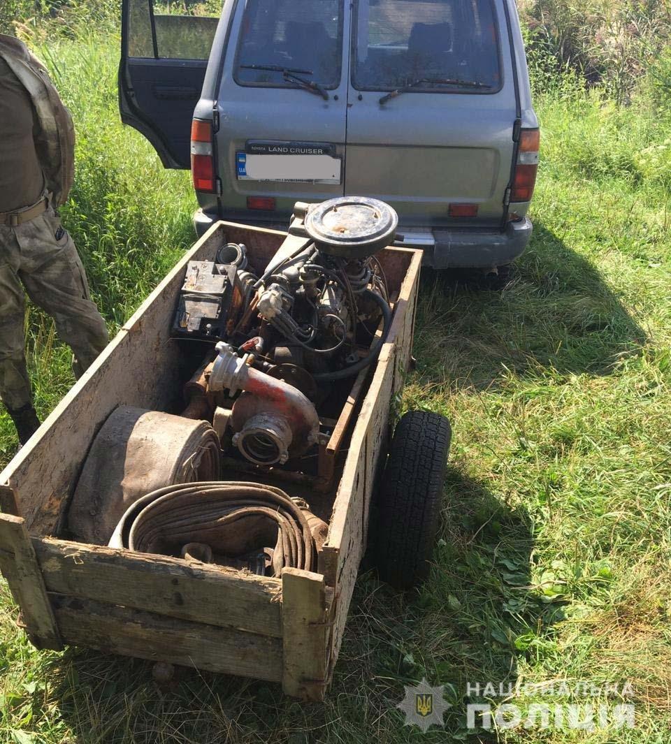 Рівненські поліцейські викрили ще декілька точок видобутку бурштину , фото-2