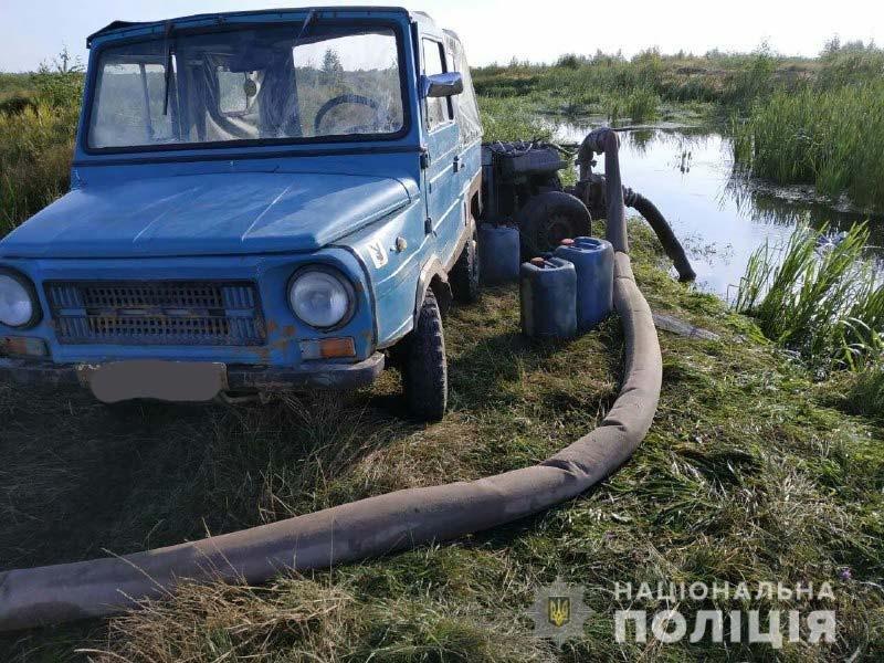 Рівненські поліцейські викрили ще декілька точок видобутку бурштину , фото-3