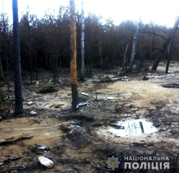 Рівненські поліцейські викрили ще декілька точок видобутку бурштину , фото-1