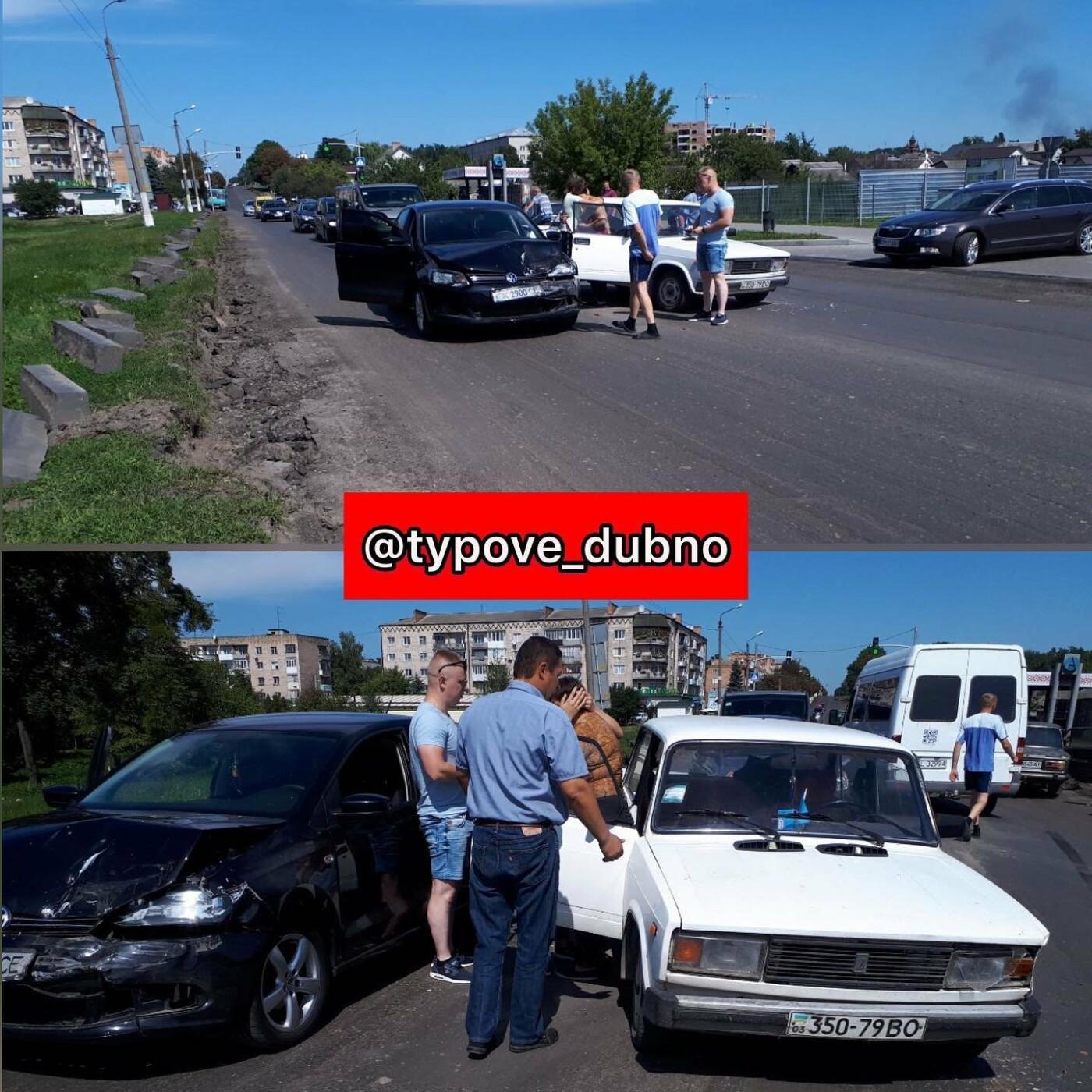 У Дубні – ДТП (ФОТО) , фото-1