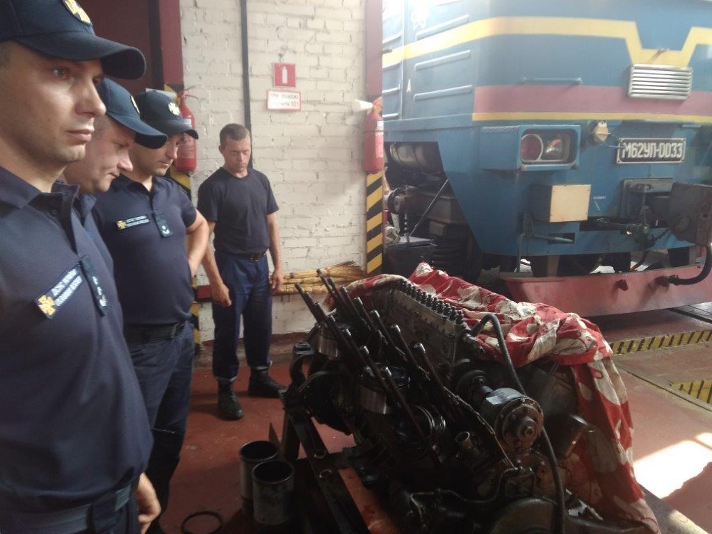 Рятувальники з охорони Рівненської АЕС ліквідували умовну пожежу (ФОТО) , фото-2