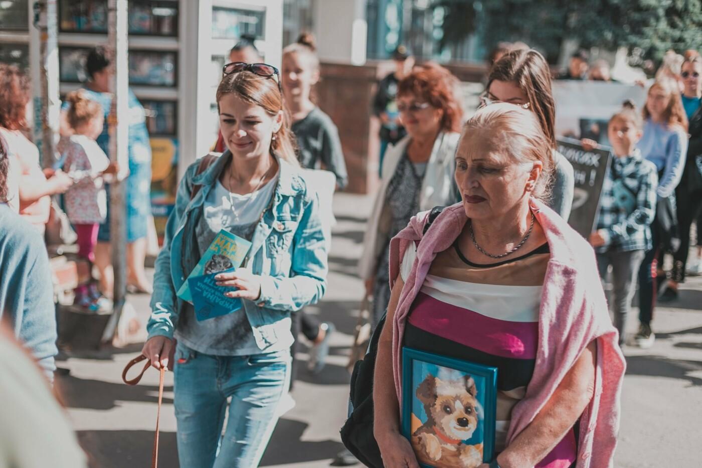 Разом з дітьми та домашніми улюбленцями: у Рівному пройшов Всеукраїнський марш за тварин (ФОТО), фото-1