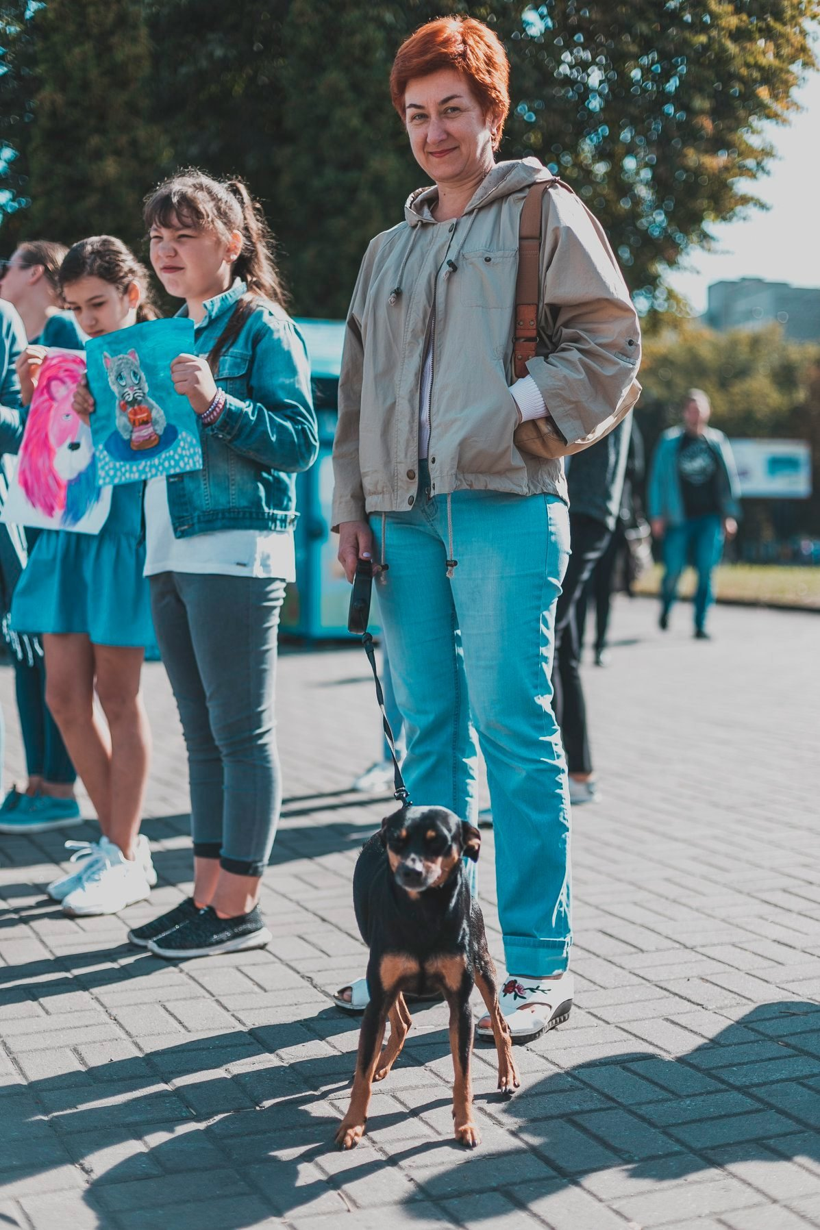Разом з дітьми та домашніми улюбленцями: у Рівному пройшов Всеукраїнський марш за тварин (ФОТО), фото-14