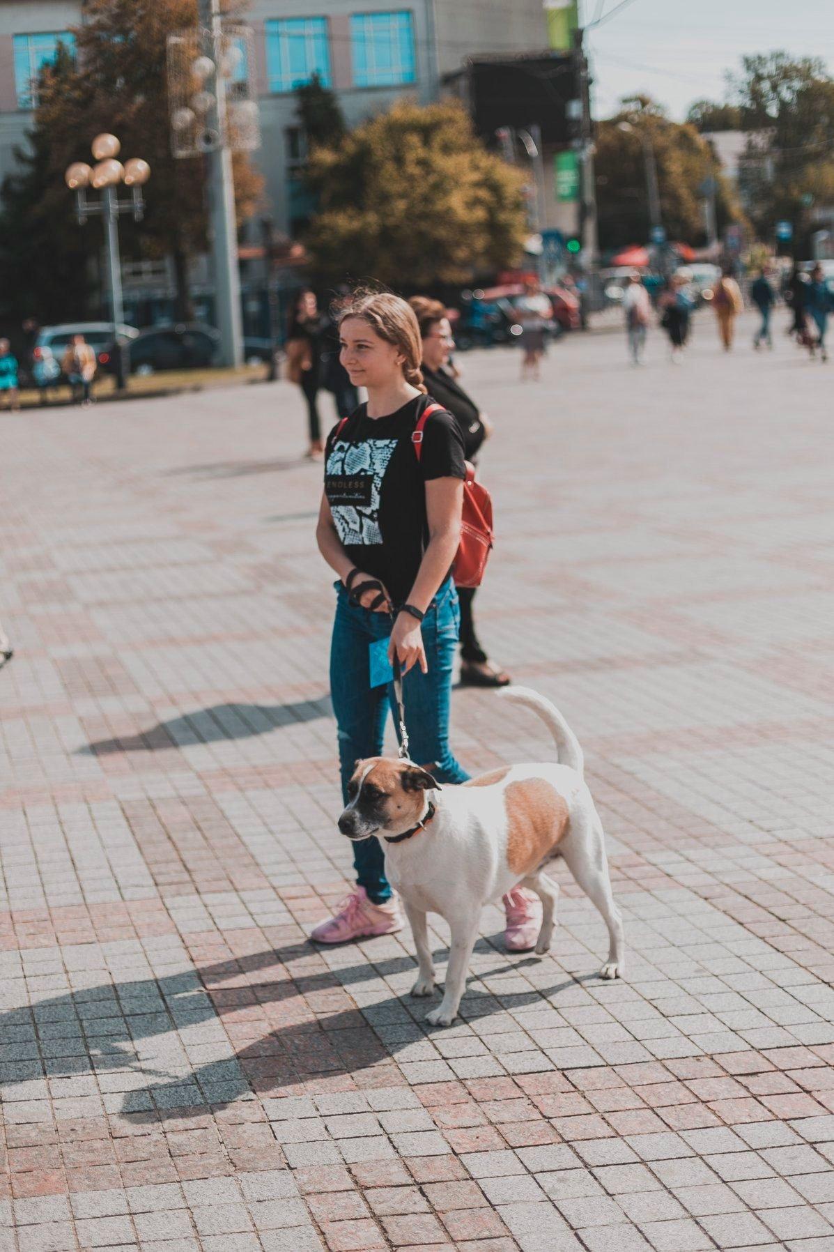 Разом з дітьми та домашніми улюбленцями: у Рівному пройшов Всеукраїнський марш за тварин (ФОТО), фото-15