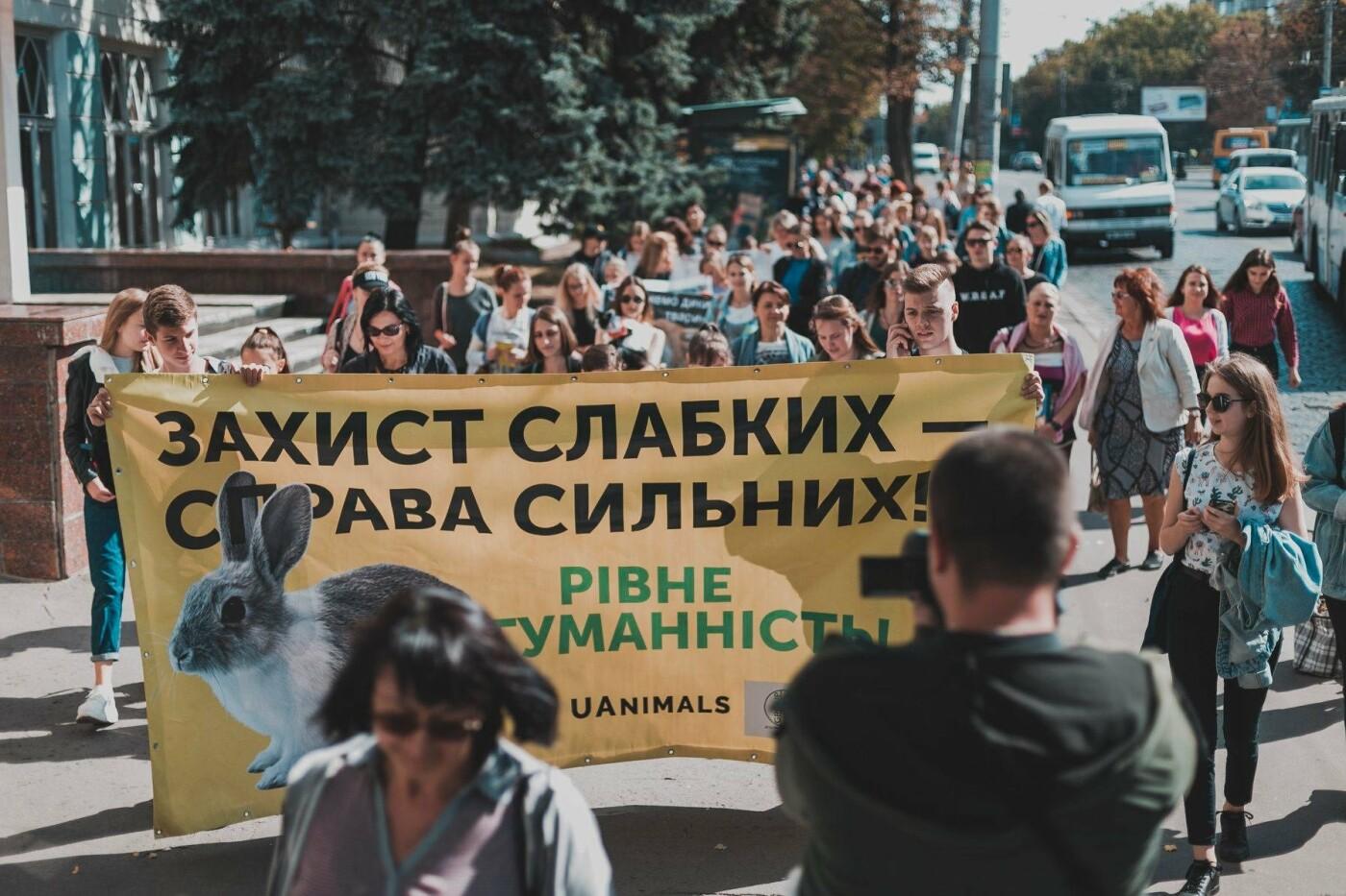 Разом з дітьми та домашніми улюбленцями: у Рівному пройшов Всеукраїнський марш за тварин (ФОТО), фото-5