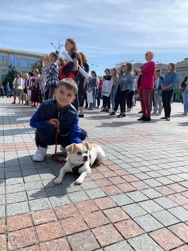 Разом з дітьми та домашніми улюбленцями: у Рівному пройшов Всеукраїнський марш за тварин (ФОТО), фото-19