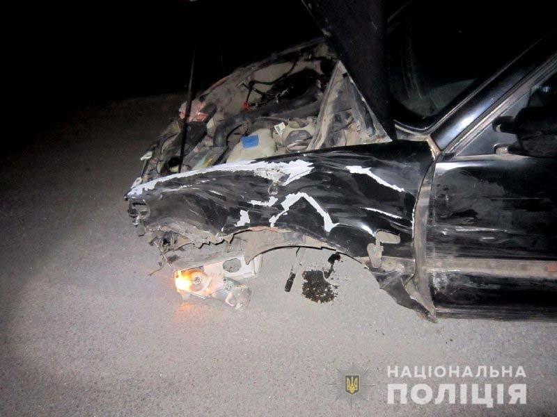 На Рівненщині – ДТП: від удару перекинуло автомобіль (ФОТО), фото-1