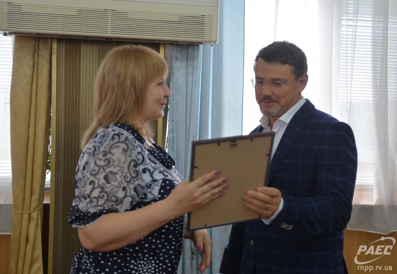 У Рівному нагородили за добросовісну працю місцевих атомників (ФОТО), фото-1