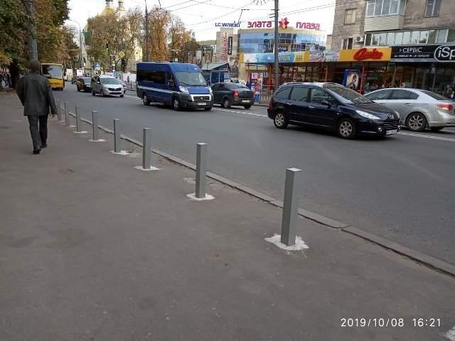 Рівненських водіїв позбавили улюбленого місця паркування (ФОТО), фото-1