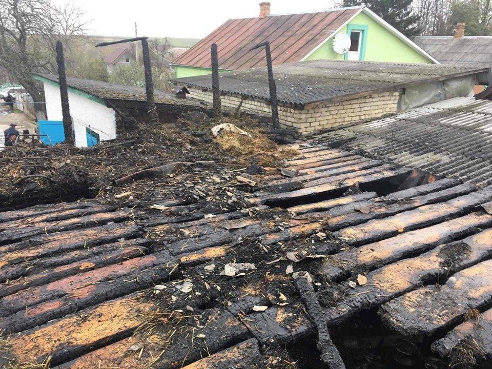 Пожежа на Рівненщині знищила господарче приміщення та одну тонну соломи, фото-4