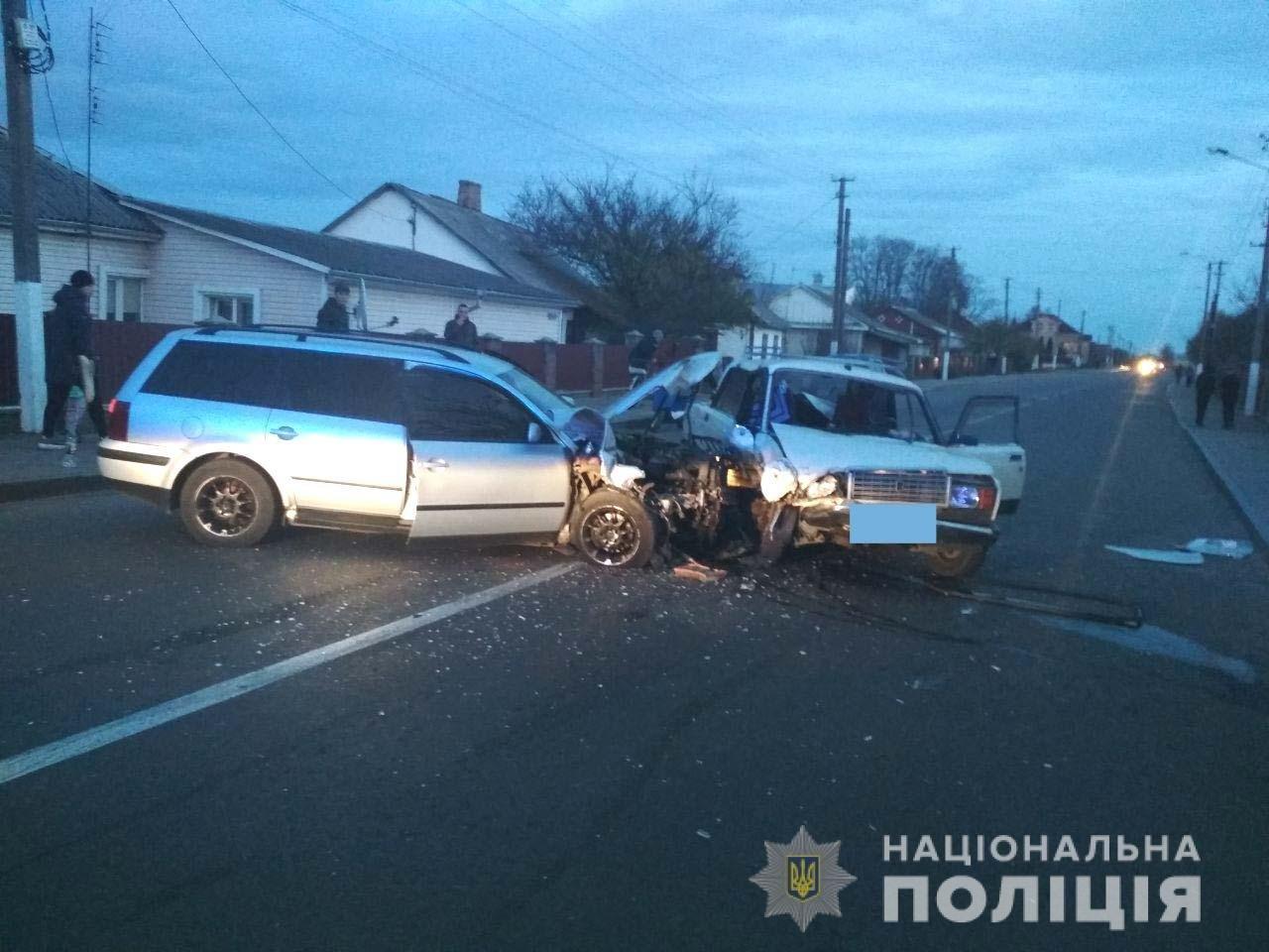 Чергове ДТП на Рівненщині: пасажирка одного з авто зламала руку, фото-1