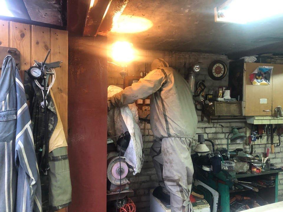 На Рівненщині рятувальники знешкодили небезпечне сусідство людей з осами, фото-1