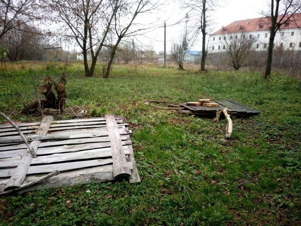 У Дубні вандали зруйнували тренувальну базу стрільців з лука (ФОТО), фото-1