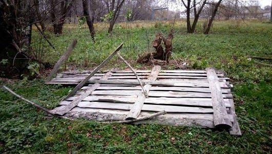 У Дубні вандали зруйнували тренувальну базу стрільців з лука (ФОТО), фото-3