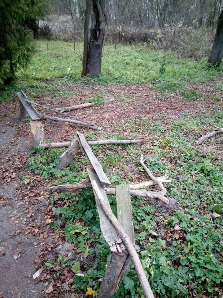 У Дубні вандали зруйнували тренувальну базу стрільців з лука (ФОТО), фото-2