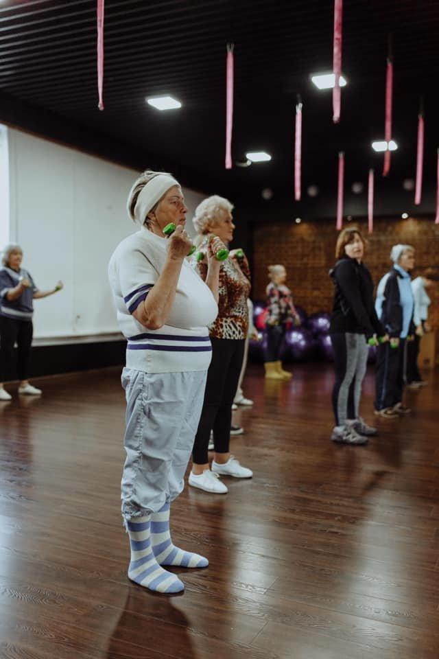 Вік - не вирок: у Дубні літні люди займаються фітнесом (ФОТО), фото-4